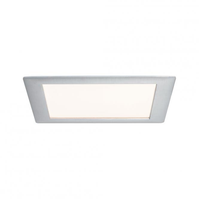 Paulmann 92614 Premium EBL Set panneau carré LED 1x15W 2700K 15VA 230V / 350mA 210mm Alu geb./Alu